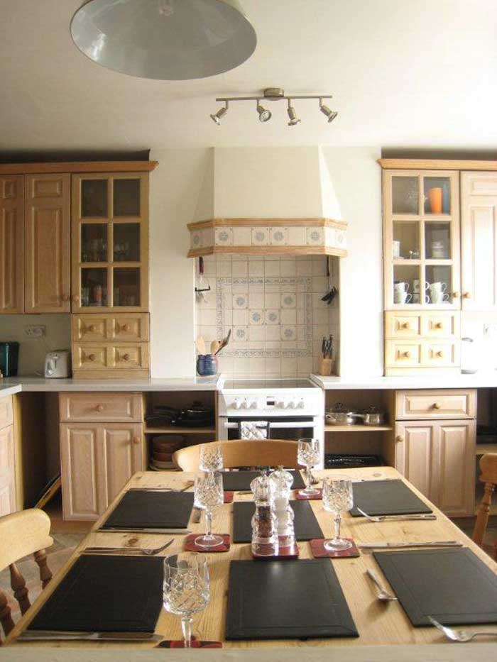 Self catering accommodation with fully fitted kitchen