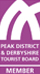 Self catering accommodation in Chesterfield Derbyshire, The Pottery Flat - Peak District and Derbyshire Tourist Board logo