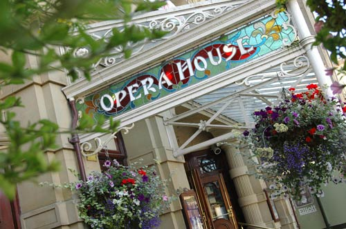 Take in a show at the stunning Buxton Opera House